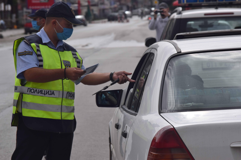 Санкционирани 243 возачи во Скопје