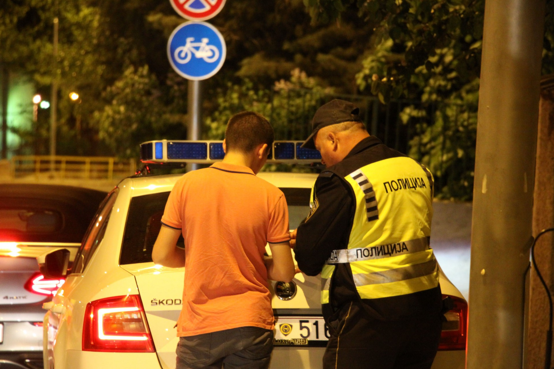 121 сообраќаен прекршок во Скопје