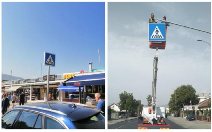 Нови светлосни сообраќајни знаци поставени на неколку локации во Скопје