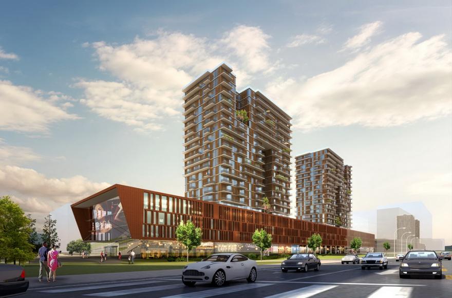 """Нов модерен трговски и станбен комплекс ќе """"никне"""" позади ..."""